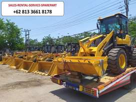 Wheel Loader Sonking Yunnei Engine Turbo 76Kw Murah Tanpa PPN