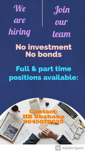 Work from home job HR recruiters