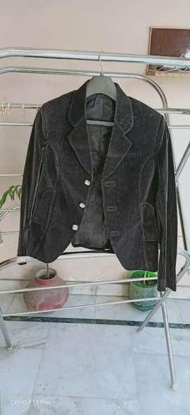 Velvet lining coat
