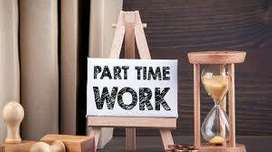 Requirement candidates for online part time or full time Work