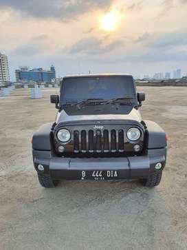 [SALE] Jeep JK Wrangler Rubicon Thn 2014 KM 29Ribu Pajak Bulan 4 HITAM
