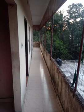 3rd floor,. 6 individual rooms , 2 bathroom , in middle of town