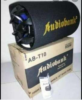 Basstube audiobank 10inchi