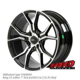 Voodoo Bmf R15 - HSRwheel Makassar Velg Mobil Racing Import