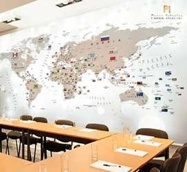 Wallpaper dinding dan plafon mewah & Cicilan 0%