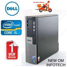 DELL i5 MACHINE/1 YEAR WARRANTY/4GB RAM & 500GB HDD/CALL NOW