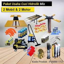 Produk Paket Cuci Hidrolik Mix 2 Mobil dan 2 Motor – PHMM 112