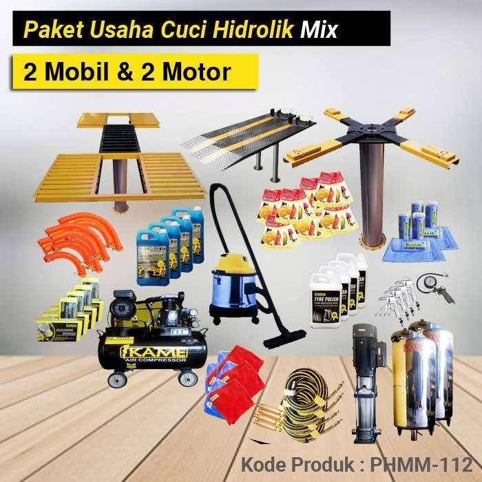 Produk Paket Cuci Hidrolik Mix 2 Mobil dan 2 Motor – PHMM 112 0