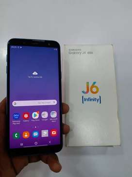 Samsung j6 (4gb/64gb).3300 mAh battery.good condition.all accessories