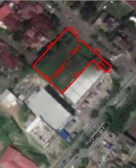 Tanah 1898m2 + Pondasi HOTEL di Jl.MT.Haryono Samping Pintu Masuk WIKA