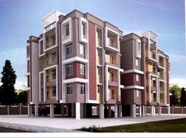 beautiful roadside 2bhk flat at baghorbari