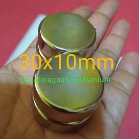 Magnet neodymium koin 30x10mm