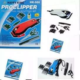 Proclipper merk Happy King type  HK 900 , Alat Cukur Rambut Box Biru