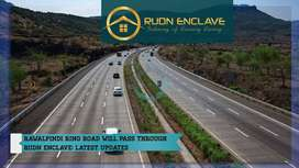 Commercial Plot For Sale Rudn Enclave Housing Society - Adiala Road