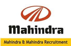 Automobile Brand Mahindra Motors Company hiring fresh exp. candidates