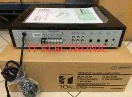 Toa amplifier 240 watt hrga distributor ori garansi resmi