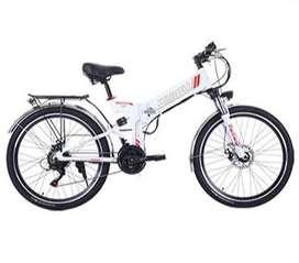 "Sepeda Listrik MTB 26"" Shimano 21 Speed 48V 350W Alloy elektrik Lipat"