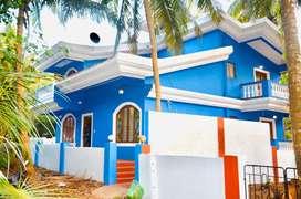 Casa D Blue 2Mins To Candolim Beach