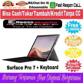 Microsoft Surface Pro 7 [8GB/128GB/i5/W10] DItoko Bisa TT/SPLit/KreDit