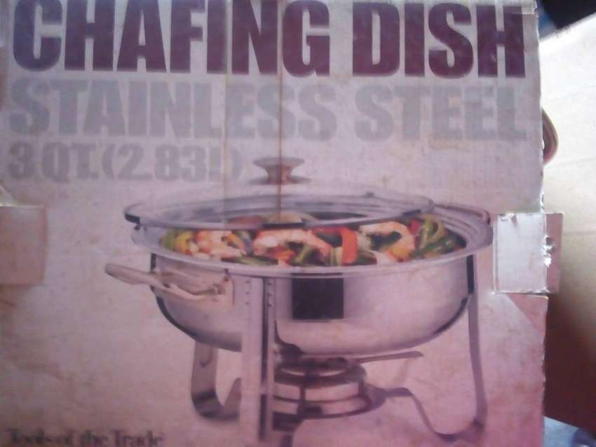 Toaster Oven n Chafting Dish 0