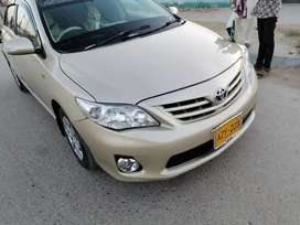 Carolla xli 2012 t0 2013 only petrol cng never installed