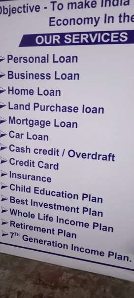 You need loans or want to earn money from home