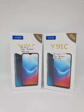 Vivo Y91c 2/32GB Black NEW - DC COM Medan Fair Lt 4 thp 4 no 243