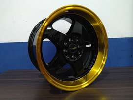 HSR LOUD RING16X8/9 PCD8X100/114,3 GOLD/ML