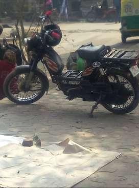 Moped with no self start... TVS XL heavy duty-moped...model 2009