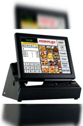 Posiflex Touch Screen Pos Billing Machine With Inbuilt Thermal Printer