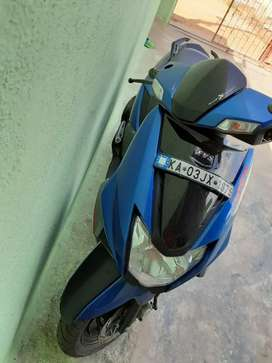 TVS motorcycle top condition