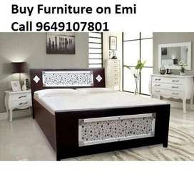 Discount on New Single Bed 1890, Double Bed 3590/-, Emi available