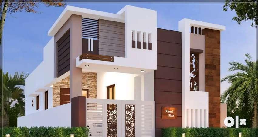 3BHK Duplex  Villa - 32 lacs@Mathampalayam, CBE to Mettupalayam NH 0