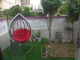 Garden swing or jhula