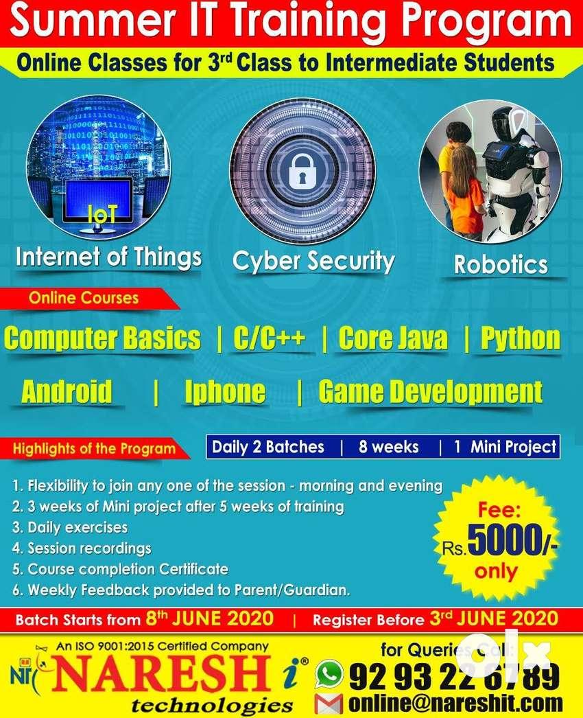 Summer IT Training in India - Naresh I Technologies 0