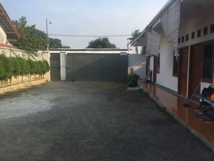 Bangunan cocok home industri, tanah 1.662 m2, di Rajek Kebon Kelapa 0