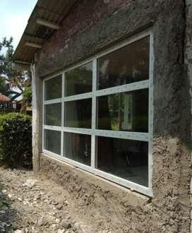 """Kusen alumunium pintu jendela kaca partisi """"2991"""