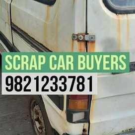 Crusheddd scrapp car buyer in Mumbai
