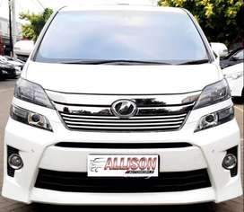 Vellfire Z 2.4 AT 2013 White Istimewa
