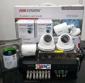 CCTV Hilook 2mp Paket Camera full hd Agen pasang Area cianjur