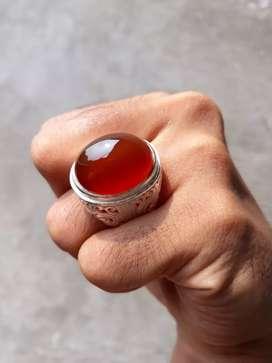 Batu Red Raflesia Bengkulu Natural Red Carnelian Sudah Langka di Alam