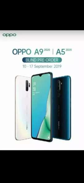 Oppo A9 ram 8/128 gb terbaru