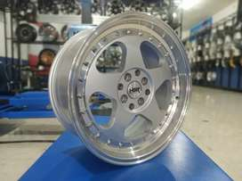 For sale velg celong HSR R17 H8X100/114,3 BISA CREDIT/TT