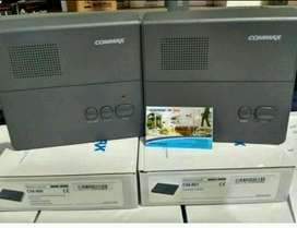 Intercom / interphone commax sepasang isi 2 unit