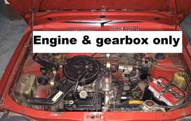 Japanese engine & gearbox from 1987 Maruti 800
