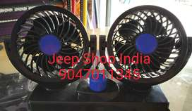 Tiltable Fan Suitable for Cars and Jeeps