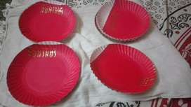 Disposable Paper plates and cups at affordable rates