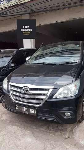 Toyota Innova G 2.0L A/T 2015 Hitam Istimewa
