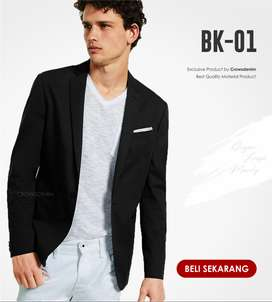 Blazer Korean Style Single Button,Blazer Slimfit,Blazer Pria Casual
