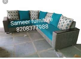 L shape sofa set curnar set 471